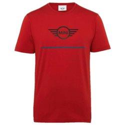 T-shirt Homme logo MINI (Rouge/Bleue/Noir)