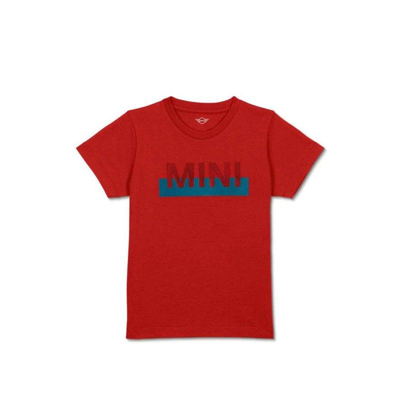 T-shirt Enfants Logo MINI (Rouge / Bleu / Noir)