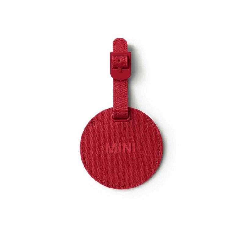 MINI étiquette à bagages (rouge)