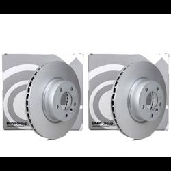 Disques de freins ventilés MINI F54, F55, F56, F57, F60