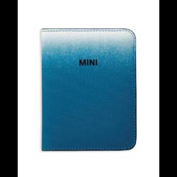 MINI Etui passeport Gradient, bleu, 14 x 10 cm
