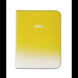MINI Etui passeport Gradient, jaune, 14 x 10 cm