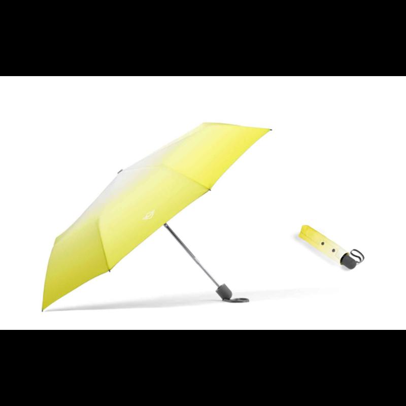 MINI Parapluie pliable Gradient, jaune