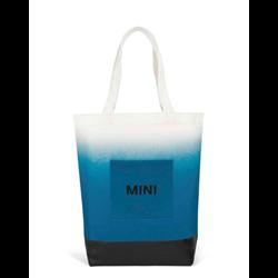 MINI Sac shopping, bleu