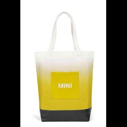 MINI Sac shopping, jaune