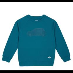 MINI Sweatshirt Enfant 3D Car, bleu Islande, 9-10 ans / 140cm