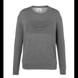 MINI Sweatshirt Femme Wing Logo Emb, gris, L