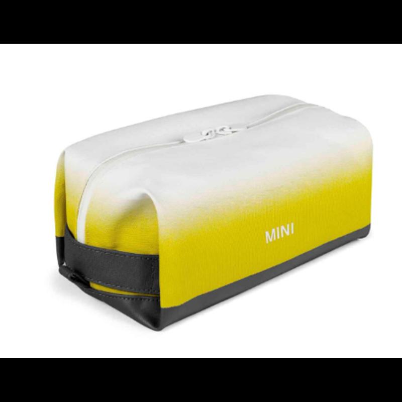 MINI Trousse de toilette Gradient, jaune, 22 × 10 ×12 cm