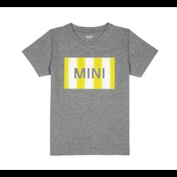 MINI T-Shirt Enfant Wordmark Gradient, gris, 2-3 ans / 98cm