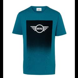 MINI T-Shirt Homme Wing Logo Gradient, bleu Islande, L