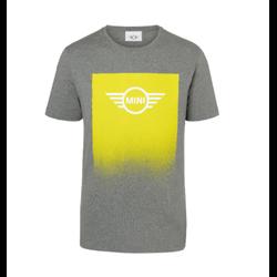 MINI T-Shirt Homme Wing Logo Gradient, gris, L