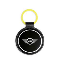 Porte-clés en émail (jaune) MINI.