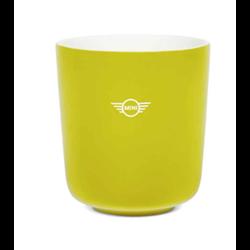 Tasse de couleur jaune MINI