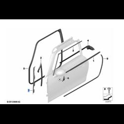 Joint de montant A (côté au choix) MINI F56, F57