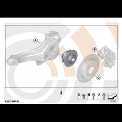 Kit réparation roulement de roue arrière (Value Line) MINI