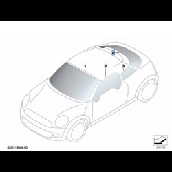 Lunette arrière MINI Coupé R58