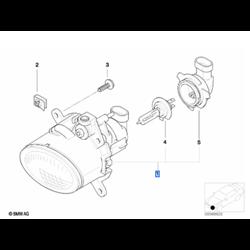 Phare antibrouillard (côté au choix) MINI Cooper R50, R52, R53