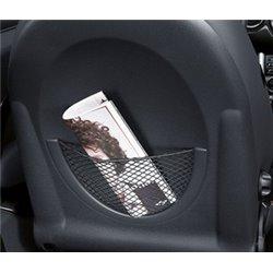 Paroi dossier de siège avec filet pour MINI One, Cooper (R50), MINI Cabriolet (R52), MINI Coupé (R53)