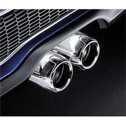 Embouts d'échappements chromés pour MINI Cooper S (R53 et R52)