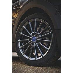 Cache-moyeu Bleu pour Nouvelles MINI F54 F55 F56 F60