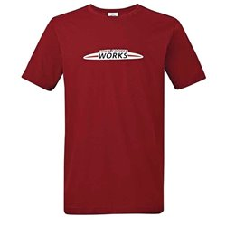 T-Shirt Homme Logo MINI JCW Chili Red
