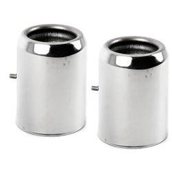 Embouts d'échappements chromés pour MINI Clubman R55 R56 R57 R58 R59 (Cooper S uniquement)