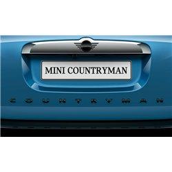 """Logo de coffre Piano Black Mini """"Countryman"""" F60"""