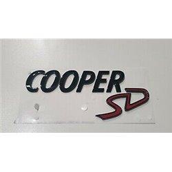 """Logo de coffre Mini """"Cooper SD"""" (F54 F55 F56 F57 F60)"""
